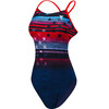 TYR Liberty Cutoutfit Bathing Suit Women red/white/blue
